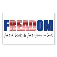 FREADOM Rectangle Decal