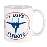 I Love Flyboys -red/blue Coffee Mug