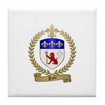 PATE Family Crest Tile Coaster