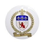 PATE Family Crest Ornament (Round)