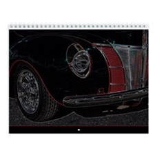 Cute Antique car Wall Calendar