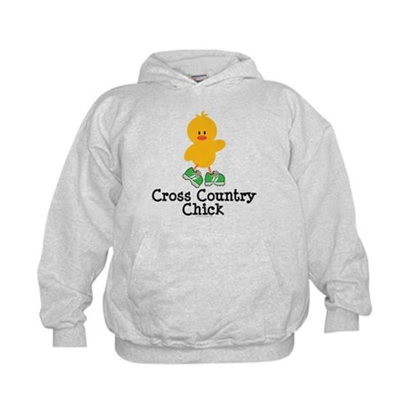 Cross Country Chick Kids Hoodie