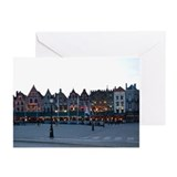 Bruges at Night Greeting Cards (Pk of 10)