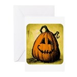 Vintage Pumpkin Greeting Cards (Pk of 10)