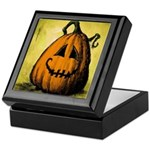 Vintage Pumpkin Keepsake Box