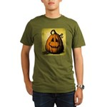 Vintage Pumpkin Organic Men's T-Shirt (dark)