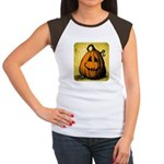Vintage Pumpkin Women's Cap Sleeve T-Shirt