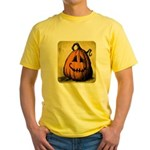 Vintage Pumpkin Yellow T-Shirt