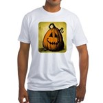 Vintage Pumpkin Fitted T-Shirt