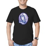 Mad Hatter Men's Fitted T-Shirt (dark)