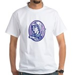 Mad Hatter White T-Shirt