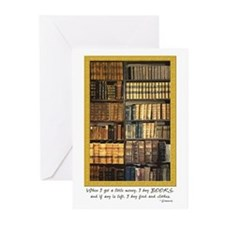 Erasmus Quote Greeting Cards (Pk of 20)