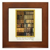 Erasmus Quote Framed Tile
