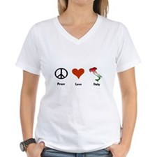 Peace, Love, Italy Shirt