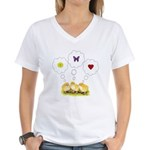 Chickie Daydreams Women's V-Neck T-Shirt
