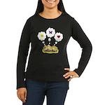 Chickie Daydreams Women's Long Sleeve Dark T-Shirt