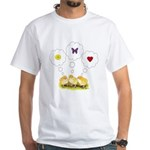 Chickie Daydreams White T-Shirt