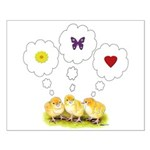 Chickie Daydreams Small Poster