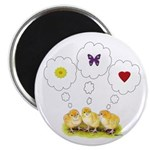 """Chickie Daydreams 2.25"""" Magnet (100 pack)"""