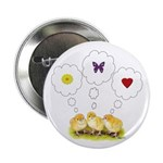 """Chickie Daydreams 2.25"""" Button (10 pack)"""