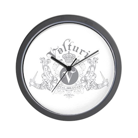 Volturi Royal Guard Wall Clock