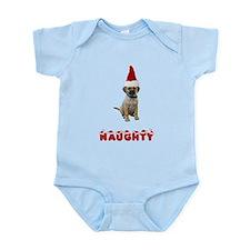 Naughty Puggle Infant Bodysuit