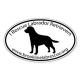 BROOKLINE LAB RESCUE Decal
