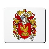Carne Coat of Arms Mousepad
