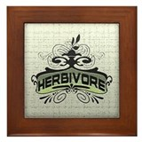 Herbivore Framed Tile