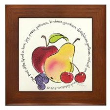 Fruit of the Spirit Framed Tile
