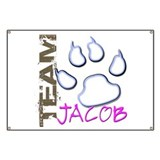 Team Jacob New Moon Movie Banner