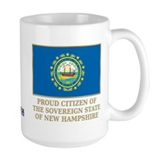 New Hampshire Proud Citizen Coffee Mug