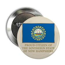 """New Hampshire Proud Citizen 2.25"""" Button"""