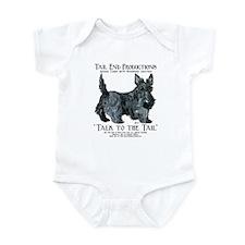 Scottie Logo Tail End Infant Bodysuit