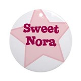 Sweet Nora Ornament (Round)