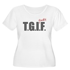 Cute Thank god it's friday T-Shirt