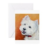 """Booker's"" Westie stuff! Greeting Cards (Pk of 10)"