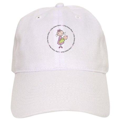 little sisters rock big sister shirt Cap