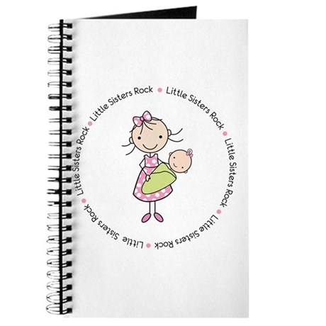 little sisters rock big sister shirt Journal