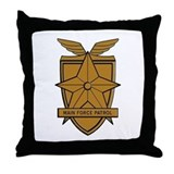 Unique Police officer Throw Pillow