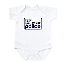 Old Detroit Police Logo Body Suit