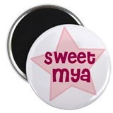 "Sweet Mya 2.25"" Magnet (10 pack)"
