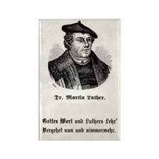 Dr. Martin Luther Rectangle Magnet (German only)