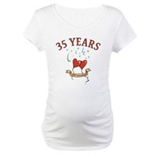 35th Festive Hearts Shirt