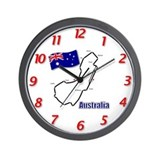Albert Park, Australia Wall Clock