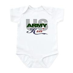 United States Army Kid Infant Creeper
