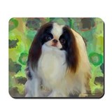 Japanese chin Classic Mousepad