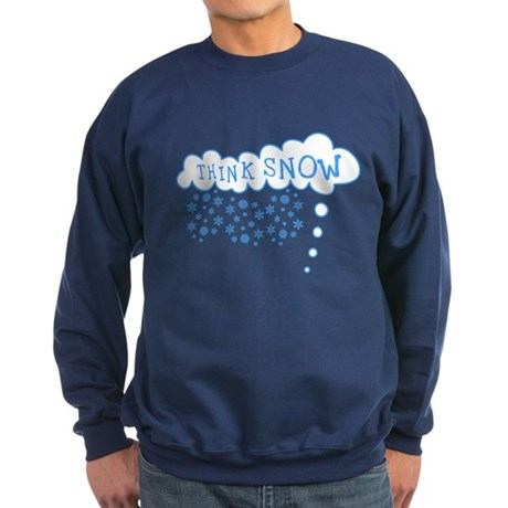 Think Snow Dark Sweatshirt