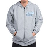 Think Snow Zipped Hoody