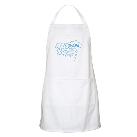 Think Snow BBQ Apron